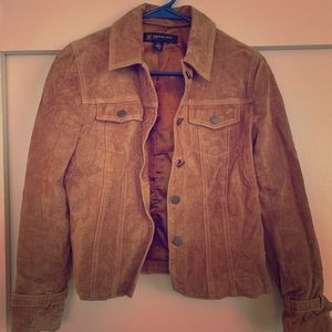 International Concepts Suede Jacket